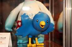 Twitter Toys - Application Logo Becomes Ollie the Twitterific Bird Vinyl Toy