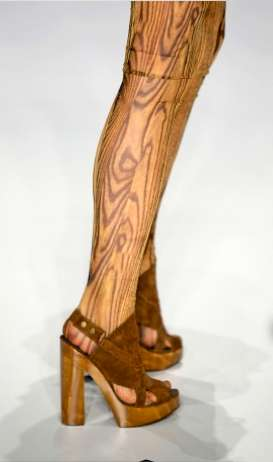 Lumber Leggings - EnD Looks to Nature for Inspiration for their S/S 2010 Tights