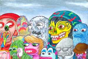 Matt Furie Creates Deranged, But Brilliantly Vibrant, Art Work