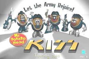 Mr. Potato Head's KISS-Inspired Make-Over Seriously Rocks
