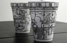 Paper Cup Artistry