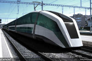 Sureot Train Maximizes Space to Ensure Ultimate Comfort