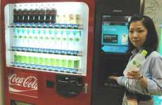 Fingerprints As Credit - Hitachi Biometric Vending Machine Requires Customers to Give It the Finger