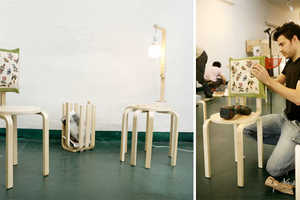 Surtido de Mutacione Takes Boxed IKEA Parts & Makes New Creations