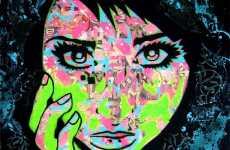 Comic Collage Women
