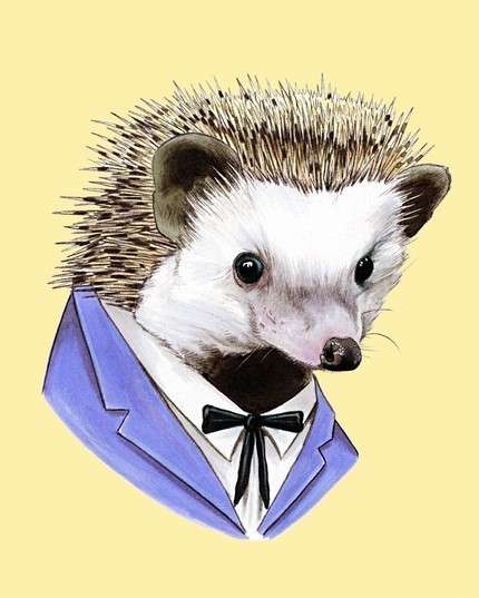 Suited Animal Art
