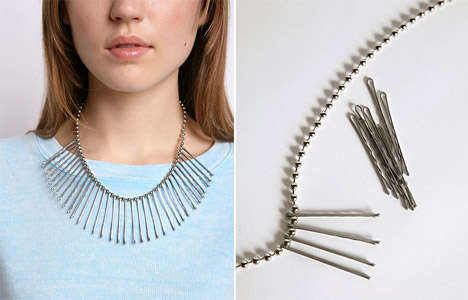 Bobby Pin Baubles - The Anni Albers Jewelry Studio Kits Teach You to Make Your Own Styles