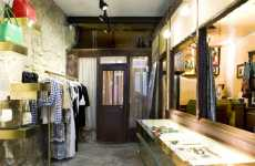 Fashionably Rustic Stores - Paul Smith's Parisian Shop Has a Vintage Vibe