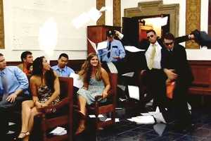 NY Video Production Dances Down the Courtroom Aisle
