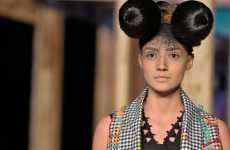 Mouse Ear Hairstyles - Ronaldo Fraga Shows Mousey Manes at Colombiamoda