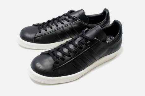 Badass Black Leather Sneakers