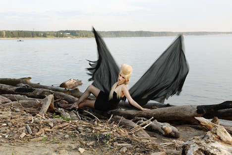 Good & Evil Photo Shoots - Dmitry Kononchuk's 'Angel/Devil' Explores the Dichotomy