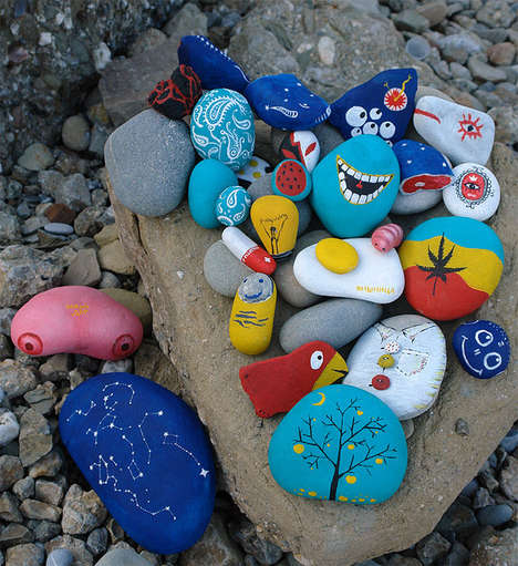 Peculiar Painted Stones