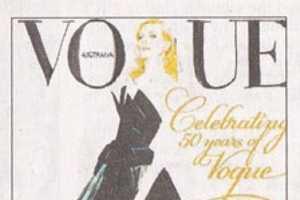 David Downton Does Cate Blanchett for Vogue Australia September '09
