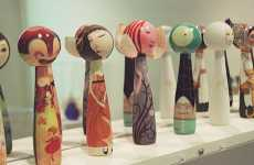 Custom Kokeshi Collections - Japanese American National Museum Sells Series of Limbless Dolls