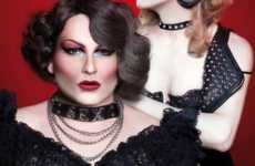 Cross-Dressing Cover Models - 'Diossa y Malyzzia' Give Vanitygay the Glam