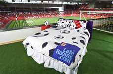 Football Stadium Hotels - LateRooms.com Lets Manchester United Fans Sleep in 'GreatRooms&#8217