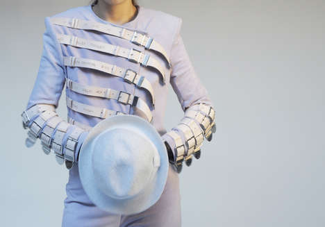 Tribute Fashions - Luxirare Memorializes Michael Jackson with Chic Belted Jacket