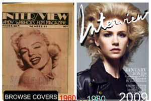 'Flashback! Interview' Lets You Peruse Old Celeb Pictures & Stories