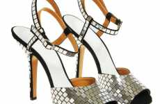 Disco Sandals - Maison Martin Margiela Gets Nostalgic and Glamorous With Sparkly Shoes