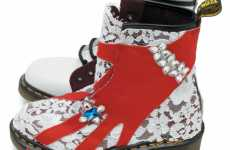 Redesigning Punk Boots - Deliciously Devine Designer Doc Martens 1460 Recreated