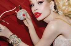 Swarovski Scents - Amanda Lepore Launches $950 Crystal Studded Fragrance