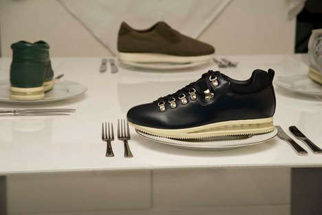 Tasty Shoe Installations - Goodhood's Gourmet Footwear Looks Good Enough to Eat