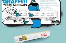 Train Graffiti Kit for Your Home