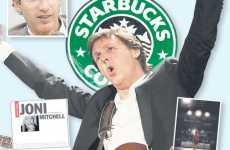 Starbucks to Launch Record Label With Paul McCartney