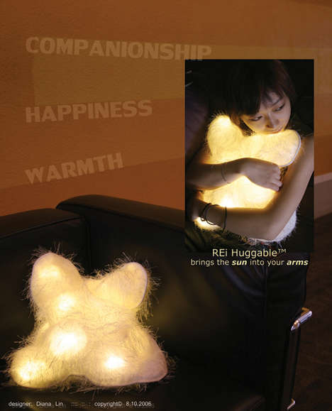 Huggable Lighting Pillow
