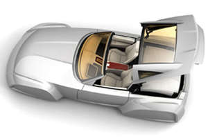 Concept Car Features 4 in 1 Retractable Roof