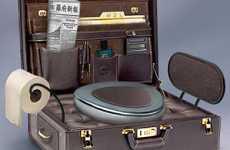 Briefcase Toilet