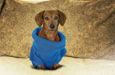 Snuggie Dog Matches Owners' Snuggies, Keeps Pooches Warm