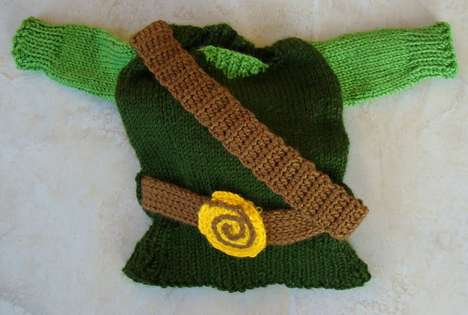 Knitted Nintendo Gear