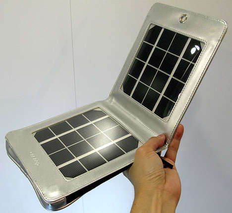 Compact Solar Panels - Take Energy With You With Sanyo Eneloop Portable Solar Panels