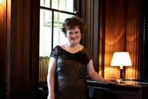 Sensational Susan Boyle in September Harper's Bazaar