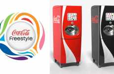 DIY Vending Blending - Coca-Cola Freestyle Vending Machine Lets You Design Flavor & Calorie-Count