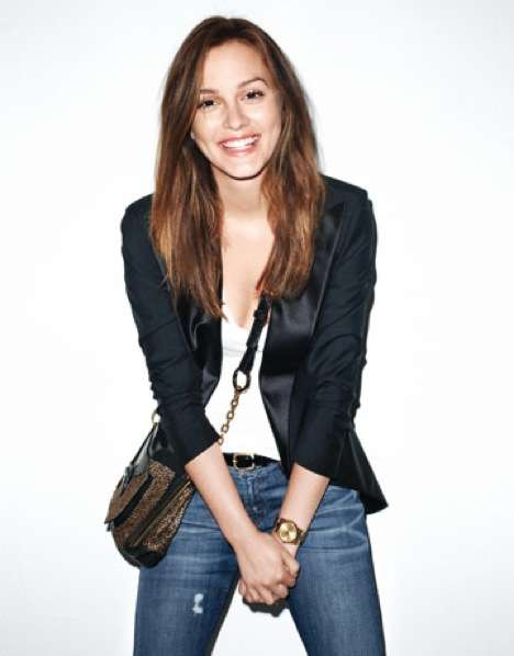 Digital Aging Editorials - Terry Richardson Takes Leighton Meester From 20 to 50 in Harper's Bazaar