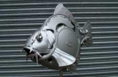 Auto Rim Sculptures