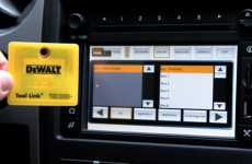 RFID Tool-Finders - DeWalt & Ford Trucks Team Up for Tool Link for Forgetful Workers
