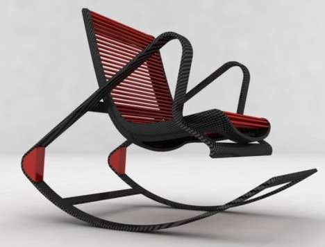 Convertible Carbon Fiber Chairs