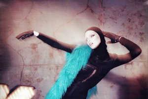 Tanya Dziahileva's Color-Popping 'Power Surge' in Harper's Bazaar UK