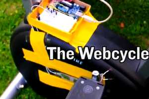The Webcycle Matches Internet Speed to Cycling Pace