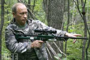 Russian President Vladimir's Neverending Quest to Assert His Manhood