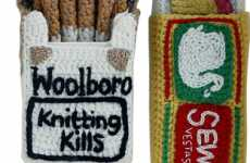 Kate Jenkins' Crafty Smoking Souvenirs Swap Nicotine for Wool