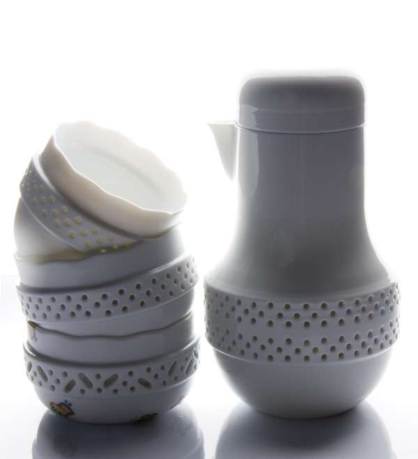 Perforated Tea Sets