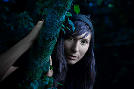 Woodland Nymph Photography - FNK Cayla's 'Fairy Wood Keeper' Evokes the Magic of the Forest