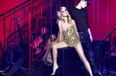 Basement Trysts - Kate Moss Plays Sex Kitten for Just Cavalli Fall 2009 Campaign