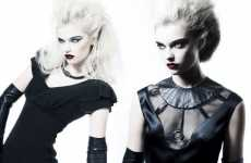 Gothic Glamour - Afira Autumn/Winter is Badass Burlesque at Its Best