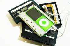 Fake Cassette Cases - Contexture Design Creates Retro-Style Holders for iPod Nanos